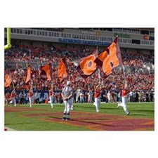 VT Pictures HOKIE Flags at the ACC Championship