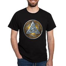 Norse Valknut - Yellow T-Shirt