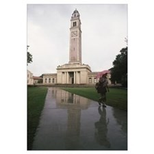 Louisana State University Photographs Rainy Day On