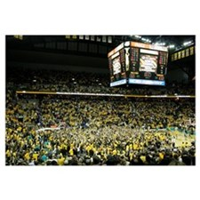 Missouri Pictures Mizzou Arena after Kansas Win