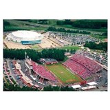 NC State University Photographs Aerial View of Car