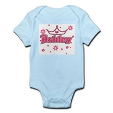 Ashley Princess Crown Star Infant Creeper