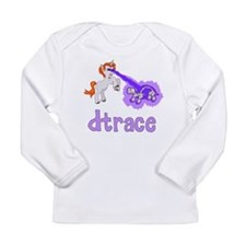 DTrace Laser Pony Long Sleeve Infant T-Shirt