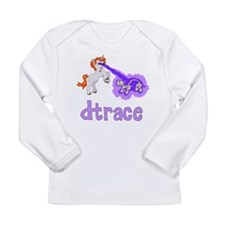 DTrace Laser Pony Long Sleeve Infant T-Shirt