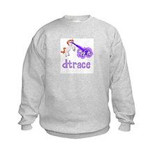 DTrace Laser Pony Kids Sweatshirt