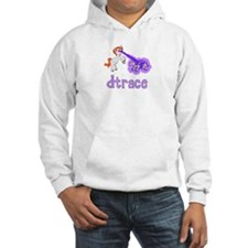DTrace Laser Pony Hooded Sweatshirt