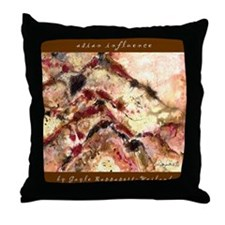 Asian Influence Throw Pillow