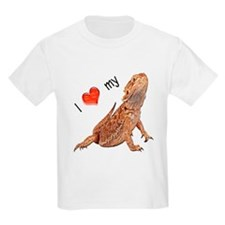 I luv my Bearded Dragon Kids T-Shirt
