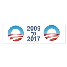 OBAMA 2013 Bumper Bumper Sticker