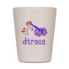 DTrace Laser Pony Shot Glass