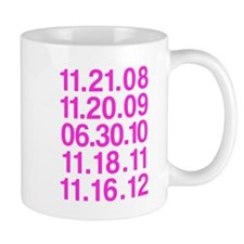 Twilight Opening Dates Mug