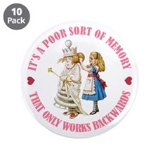 "It's a Poor Sort of Memory 3.5"" Button (10 pack)"