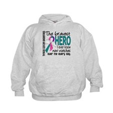 Bravest Hero I Knew Thyroid Cancer Hoodie