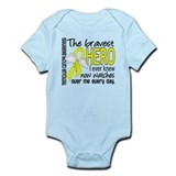 Bravest Hero I Knew Testicular Cancer Infant Bodys