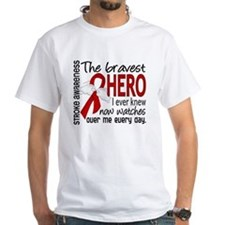 Bravest Hero I Knew Stroke Shirt