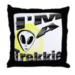I'm A Trekkie Throw Pillow