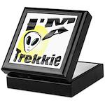 I'm A Trekkie Keepsake Box