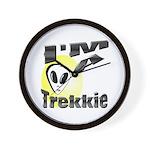 I'm A Trekkie Wall Clock