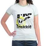 I'm A Trekkie Jr. Ringer T-Shirt