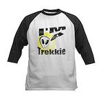I'm A Trekkie Kids Baseball Jersey