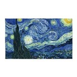Van Gogh Starry Night 3'x5' Area Rug