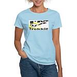 I'm A Trekkie Women's Pink T-Shirt