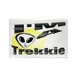 I'm A Trekkie Rectangle Magnet (10 pack)