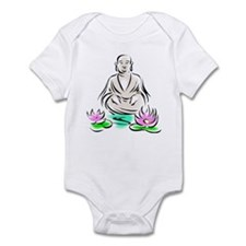 Buddha Sitting On Lotus Infant Creeper