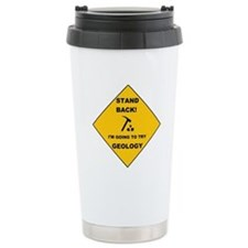 Stand Back Geo 1 Ceramic Travel Mug