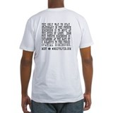 Moving Dimensions Theory Fitted T-shirt