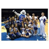 UT Arlington Pictures Blaze, Cheerleaders and Danc