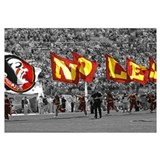 Seminole Flags in Doak Cambell Stadium