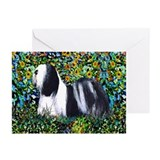 Lhasa Apso Champions Fine Art Smart Greeting Cards