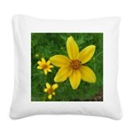 .coreopsis. Square Canvas Pillow
