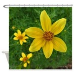 .coreopsis. Shower Curtain