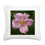 .light pink rose. Square Canvas Pillow