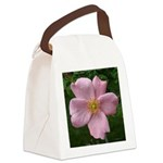 .light pink rose. Canvas Lunch Bag