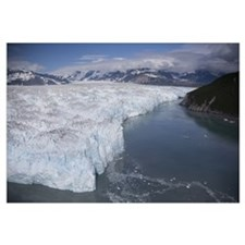Hubbard Glacier encroaching on Gilbert Point, Wran