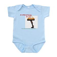 Christmas Story Electric Leg Lamp Infant Bodysuit