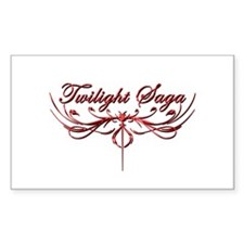 Twilight Saga Sticker (Rectangle)
