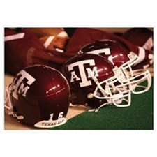 Texas A and M Football Helmets