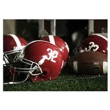 Alabama Football Helmets