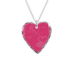 heart cupid necklace