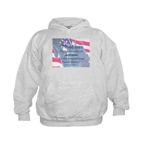 """Sea of Liberty"" Kids Hoodie"