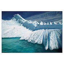 Overturned iceberg with eroded edges, Enterprise I