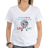Friends Dont Let Friends Skip Leg Day Shirt