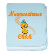 Neuroscience Chick #2 baby blanket