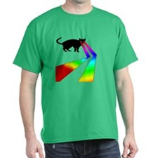 Kitty Cat with Laser eyes shirt T-Shirt