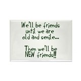 Well be friends png.png Rectangle Magnet (10 pack)
