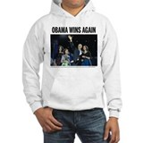 Obama wins again Hoodie